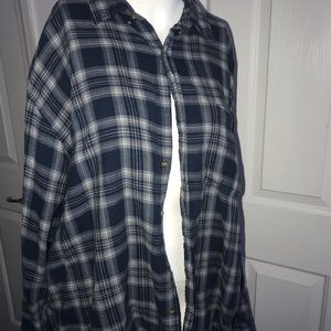Cherokee blue flannel